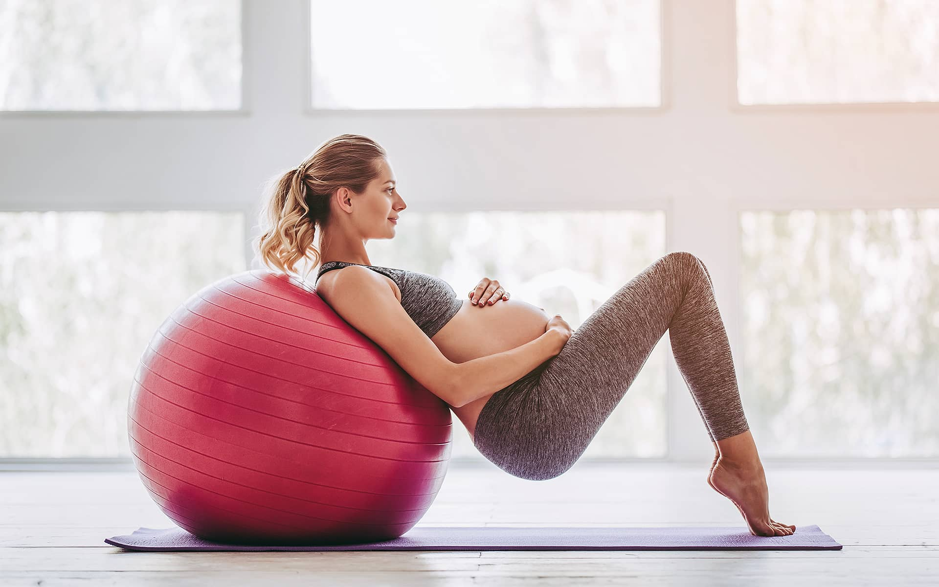 Exercices femmes enceintes